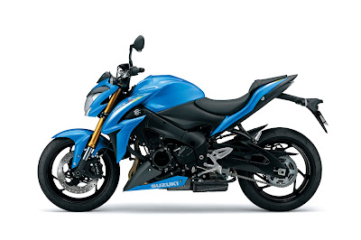 Suzuki GSX-S1000 left side view