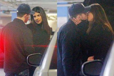 'कार पार्किंग' में Kiss करते पकड़े गए प्रियंका -निक, हॉट Pics हुआ Viral