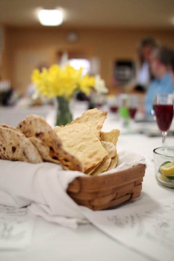 Homemade einkorn matzah for Passover | Land of Honey