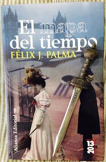 Portada del libro El mapa del tiempo, de Félix J. Palma
