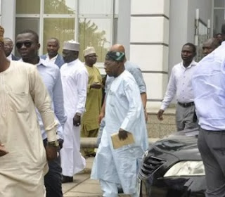 Obasanjo Rejoins PDP? Spotted At PDP Convention Committee Inauguration Venue, See Photo