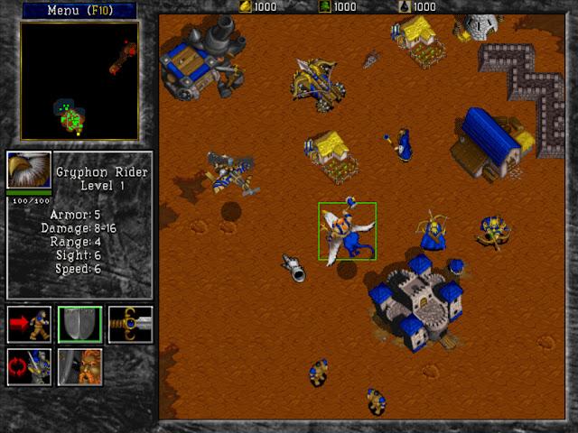 Warcraft 2 Gryphon Rider Screenshot