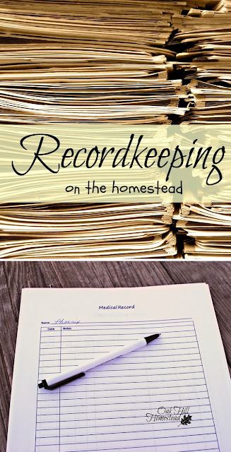 Why homestead records are important, and what information you need to save. Record keeping is the backbone of your homestead. From Oak Hill Homestead