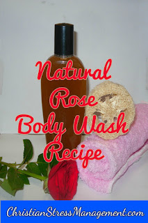 Rose body wash recipe