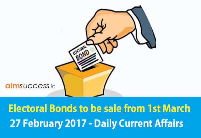 27 February 2017 - Daily Current Affairs
