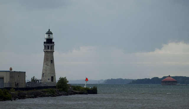 Buffalo Main Light: where the Buffalo River meets Lake Erie