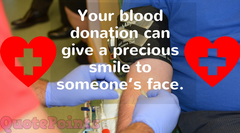 funny quotes on blood donation