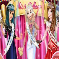 a731427f0e4f9 العاب تلبيس الاميرات فى مسابقة ملكات جمال الكلية - العاب بنات