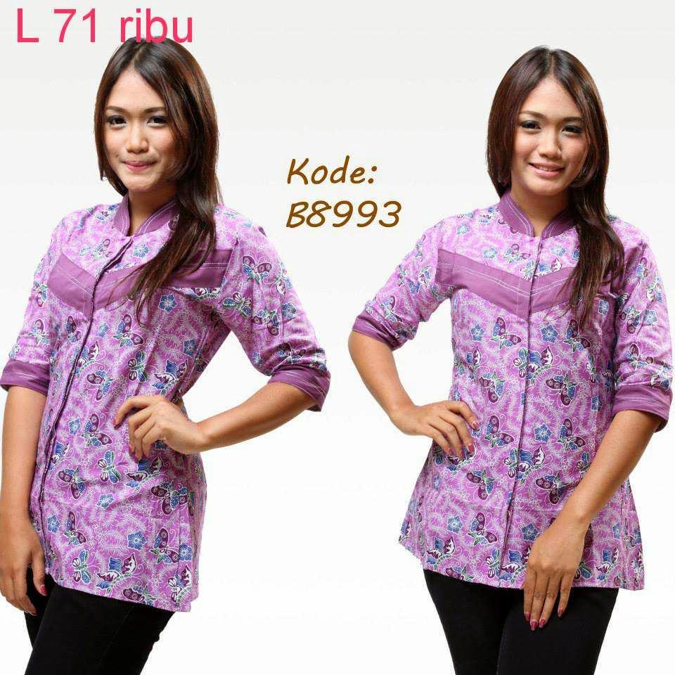 Download Baju Batik Wanita: Kumpulan Model Baju Batik Modern