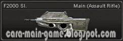 F2000 Sl. Senjata Point Blank PB Weapon