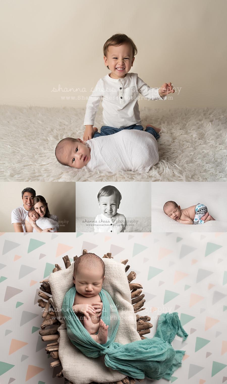 eugene oregon newborn family photography