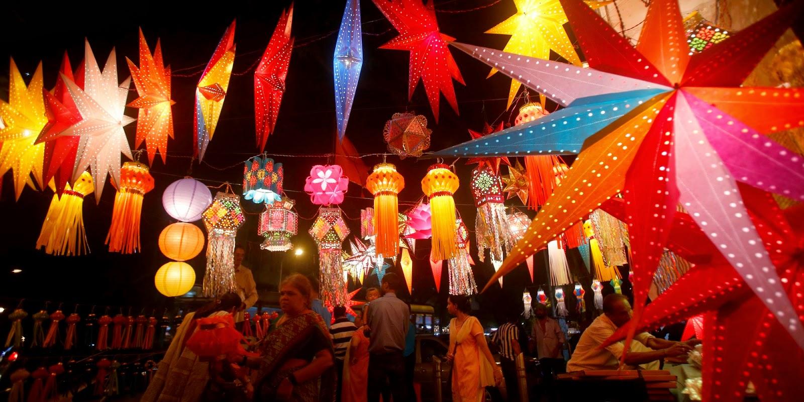 diwali decoration image