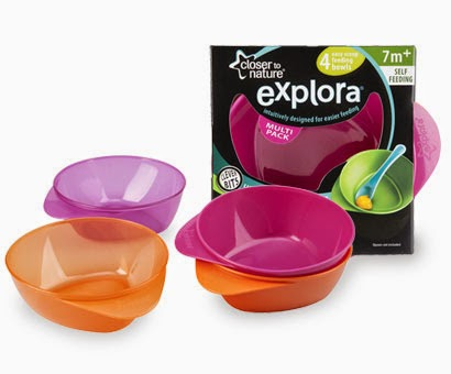 Explora easy scoop bowls