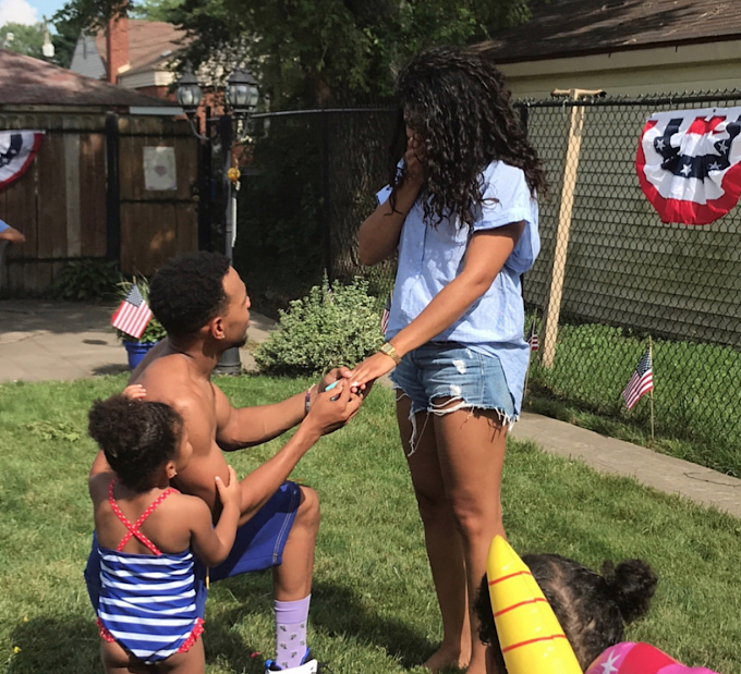 Chance the Rapper engaged to longtime girlfriend Kirsten Corley (Photos/Video)