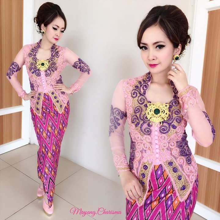 Baju Batik Ala Artis: REKAAN KEBAYA MODEN DAN TREND YANG TERKINI DI