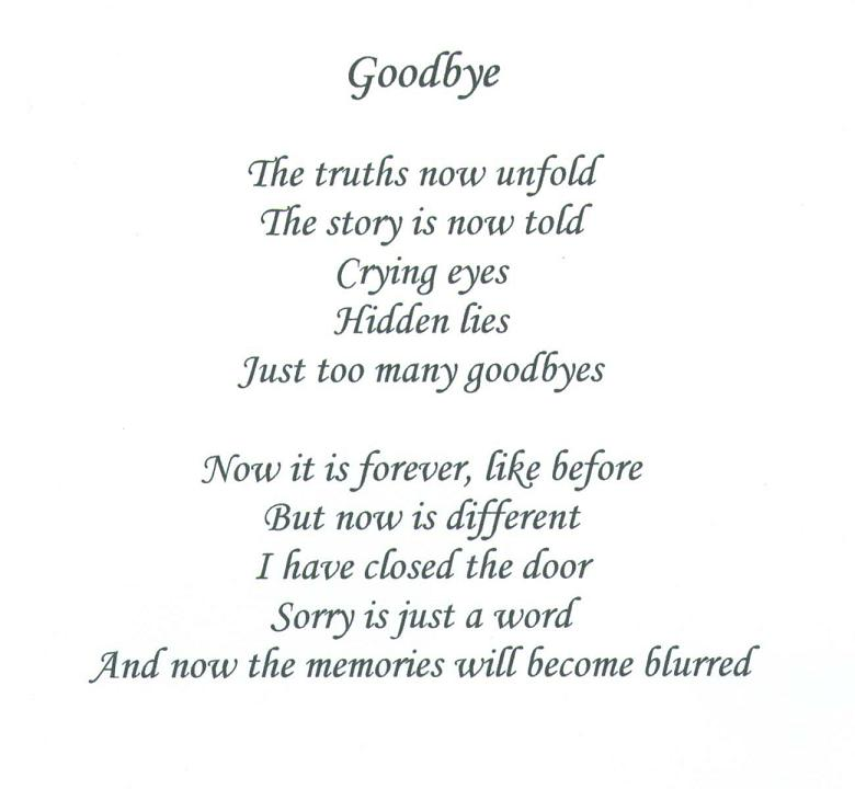 Saying Goodbye To Love Quotes: Image Quetes 13: Farewell Quotes