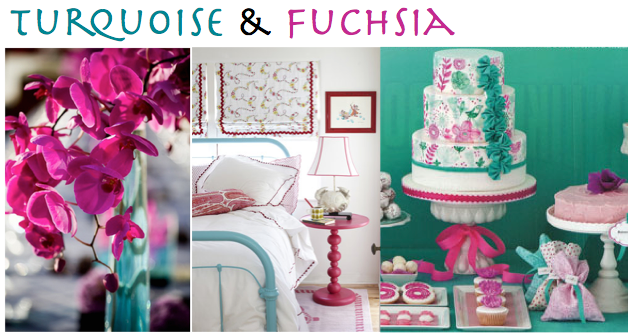 House Of Hydrangeas Color Me Hy Turquoise Edition And Fuschia Wedding Colors