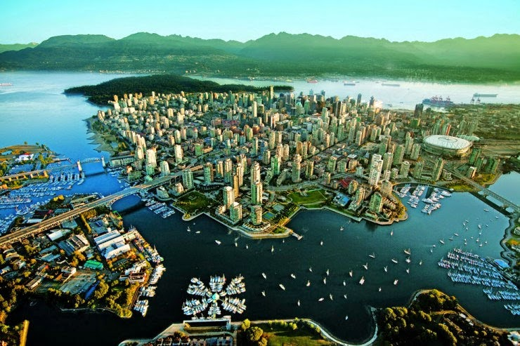 6. Vancouver, Canada - 30 Best and Most Breathtaking Cityscapes