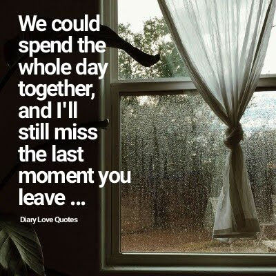 miss you picture love quote for couple