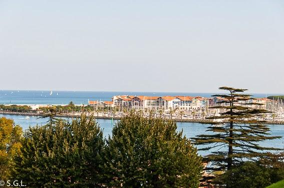 Vista de Francia desde Hondarribia