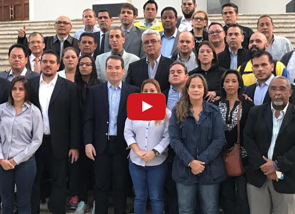 Diputados dan madrugonazo en la Asamblea Nacional