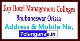 Top Hotel Management Colleges in Bhubaneswar Orissa