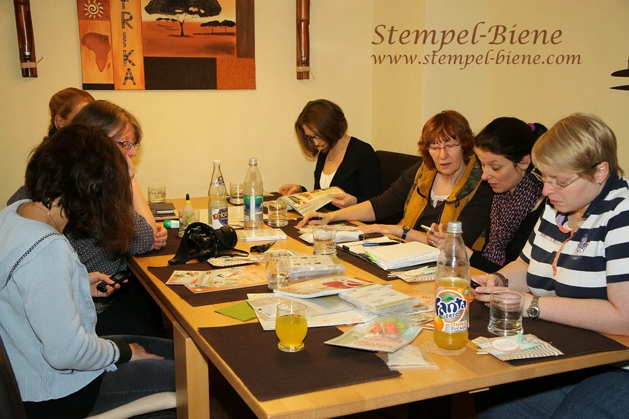 Teamtreffen stampin up