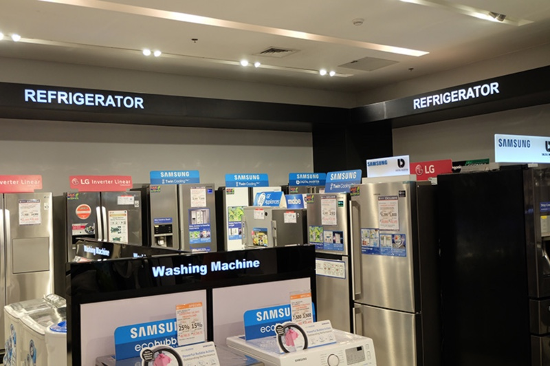 sm appliances washing machine