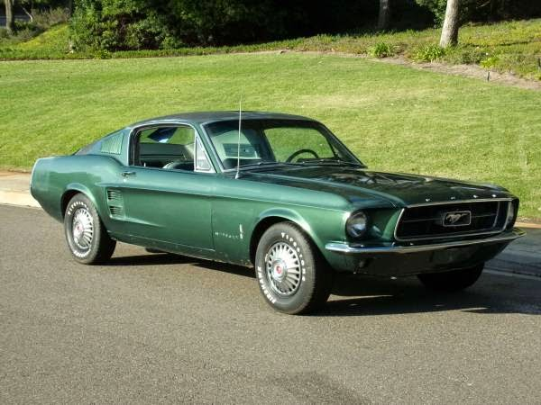1967 mustang fastback for sale buy american muscle car. Black Bedroom Furniture Sets. Home Design Ideas