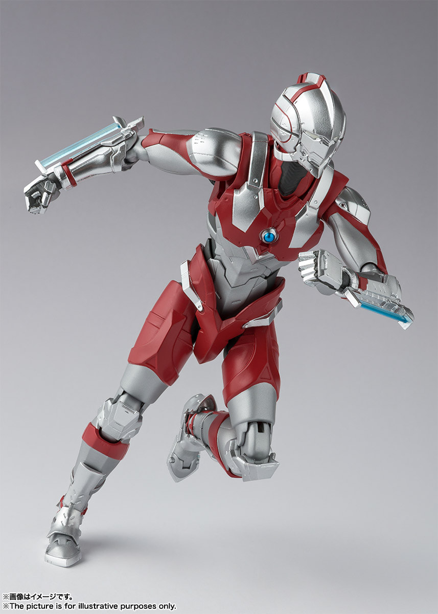 S H E Together Forever Hebe: S.H. FiguArts ULTRAMAN -The Animation- Figure Line