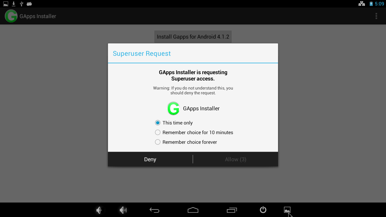Codewalker: Universal 1-Click GApps Installer for ODROID