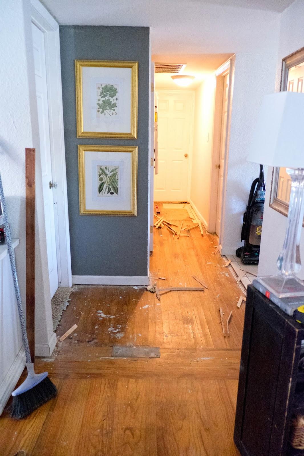 Domestic Fashionista Recovering Hardwood Floors