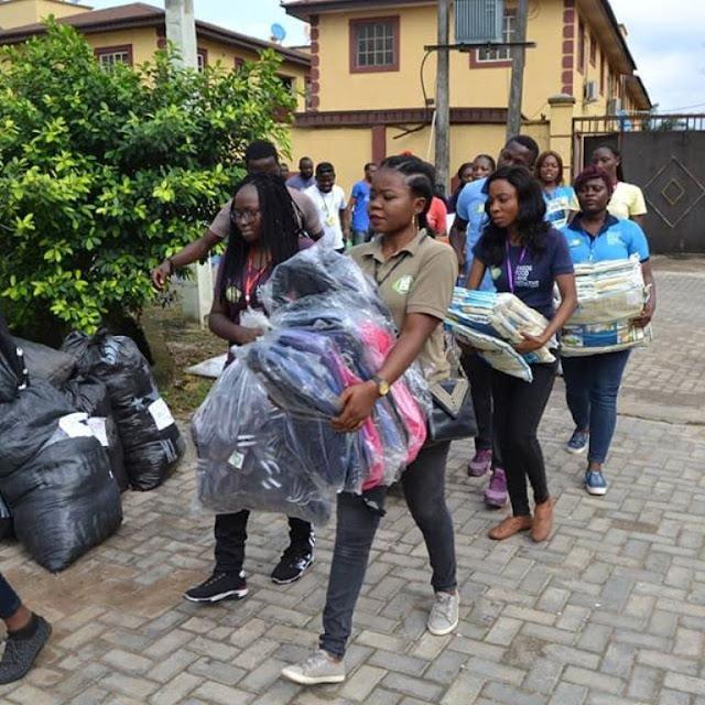 NGO giving to the Poor - Lagos Food bank