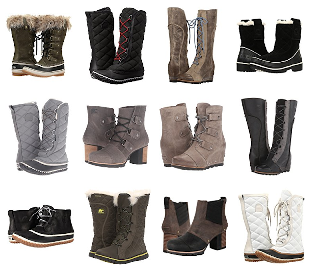 6PM: SOREL Boots Sale - Up to 60% off + Free Shipping!