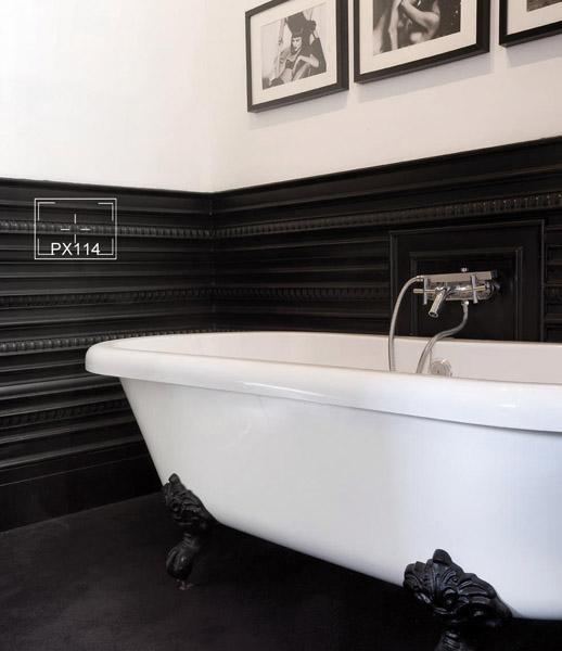 Molduras para decoración de baños