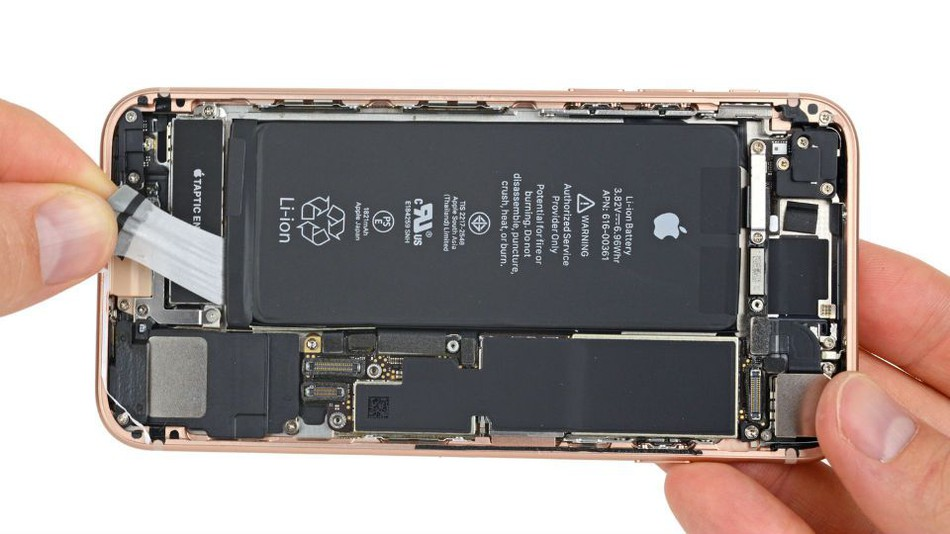 Opened the iPhone 8 which was seen inside!!! - OnlineEasyTricks