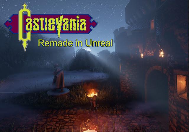 Castlevania refeito no motor Unreal