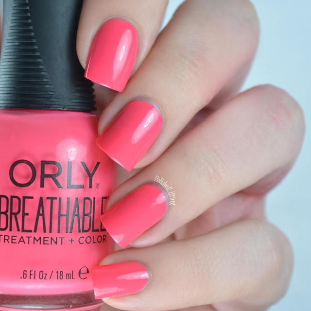 Polished Lifting Orly Breathable Swatches Amp Nail Art