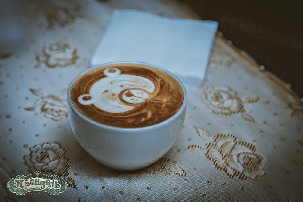 кофе, латте, латте-арт, рисование на кофейной пене