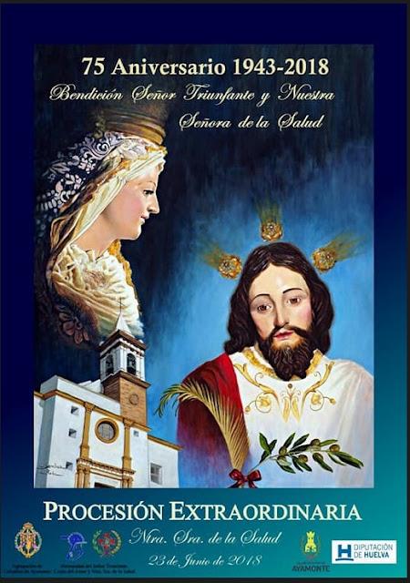 Hoy Salida Procesional Extraordinaria de la virgen de la Salud de Ayamonte