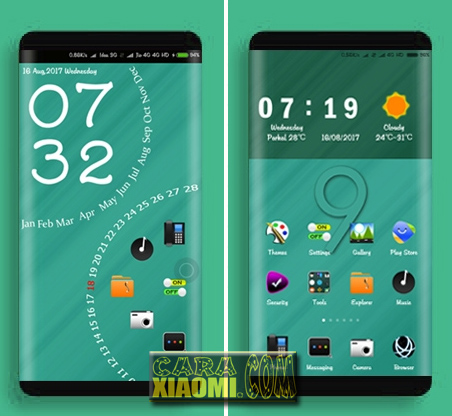 MIUI Theme Neo Deficire 999 Mtz For Xiaomi
