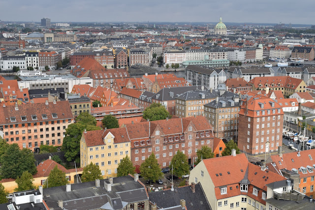 view from church of our saviour, copenhagen