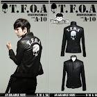 jas exclusive jaket kulit crows zero tfoa generation 6th (a 10) 2