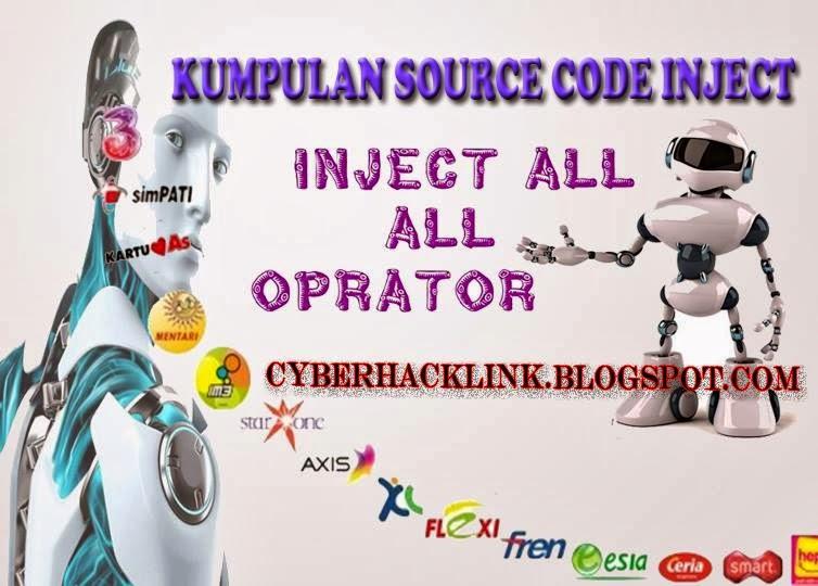 Kumpulan Source Code inject Semua Provider