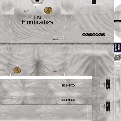 PES 6 Kits Paris Saint-Germain Season 2018/2019 by FacaA/Ngel