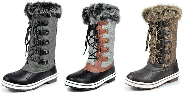 ARCTIV3 Faux Fur Snow Boots for only $35 (reg $90)