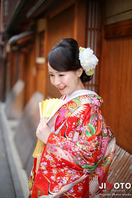 京都前撮りロケーション撮影|祇園