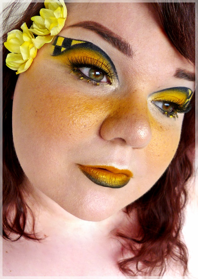 Hufflepuff make-up