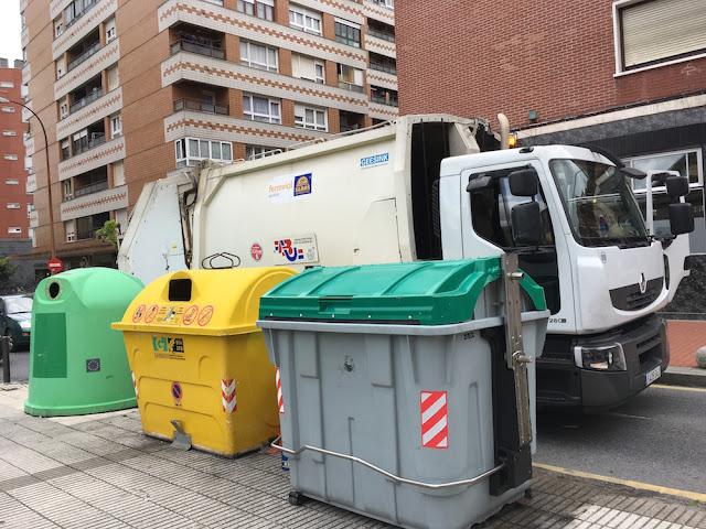 recogida de basuras en Barakaldo