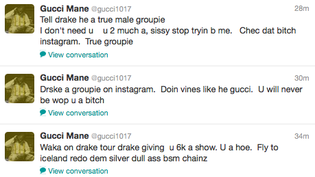 d8103d2ed13 Gucci Mane - Twitter Rant - Empire BBK